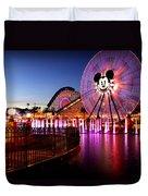 Mickey's Water Wheel Duvet Cover