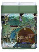 Mick's Drums Duvet Cover by Paulette B Wright