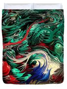 Micro Life By Rafi Talby Duvet Cover