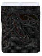 Microdot Duvet Cover