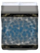 Microscopic Scale - Blue Duvet Cover