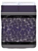 Microscopic Scale - Purple  Duvet Cover
