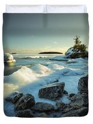 Middlebrun Bay Sunset II Duvet Cover