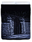 Midnight At The Prison Gates Duvet Cover