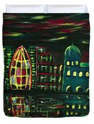 Midnight City Duvet Cover