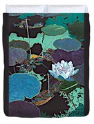 Midnight Moonglow Duvet Cover