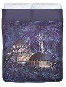 Midnight Mosque Duvet Cover