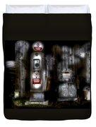 Midnight Oil Duvet Cover