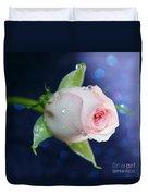 Midnight Rose Duvet Cover