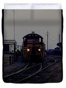 Midnight Train Duvet Cover