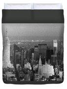 Midtown Manhattan 1980s Duvet Cover