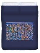 Midtown Manhattan Skyline Duvet Cover
