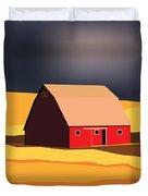 Midwest Barn Duvet Cover