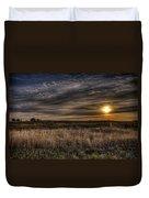 Midwest Sunrise Duvet Cover