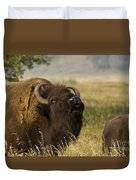 Mighty Bison Duvet Cover