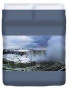 Mighty Cold Niagara Duvet Cover