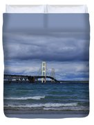 Mighty Mack Bridge Duvet Cover