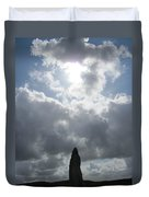 Mighty Megalith At Callanish II Duvet Cover