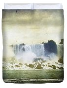 Mighty Niagara Duvet Cover