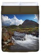 Mighty Tryfan  Duvet Cover