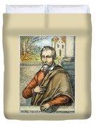 Miguel Serveto (1511-1553) Duvet Cover