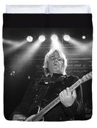 Mike Peters The Alarm By Diana Sainz Duvet Cover