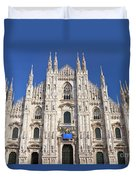 Milan Cathedral  Duvet Cover by Antonio Scarpi