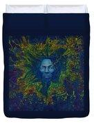 Miles. Aura. Into Creation Duvet Cover
