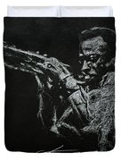 Miles Duvet Cover by Chris Mackie