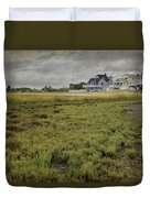 Milford Point Beach Duvet Cover