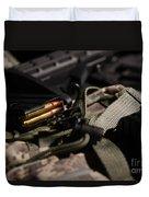 Military Pile Duvet Cover