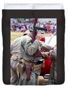 Military Small Arms 04 Ww II Duvet Cover by Thomas Woolworth