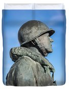Military Soldier Duvet Cover
