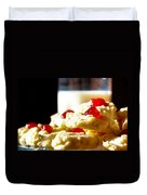 Milk And Cookies Duvet Cover
