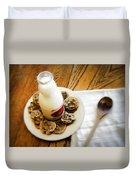 Milk And Cookies Duvet Cover