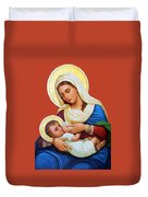 Milk Grotto Icon Duvet Cover