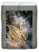 Milkweed II Duvet Cover