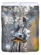 Milkweeds In Autumn Duvet Cover