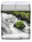 Milky Stream Duvet Cover