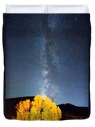 Milky Way October Sky Duvet Cover by James BO  Insogna