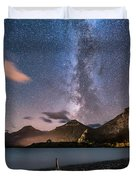 Milky Way Over Prince Of Wales Hotel Duvet Cover
