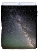 Milkyway Over Stonehenge Duvet Cover