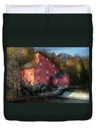 Mill - Clinton Nj - The Old Mill Duvet Cover