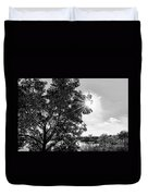 Mill Creek Marsh Afternoon Sun Duvet Cover