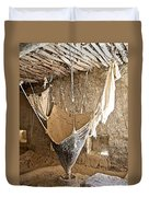 Mill On The Way To Shigatse-tibet Duvet Cover