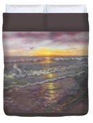 Miller Ocean Sunset Duvet Cover