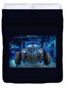 Millers Chop Shop 1946 Chevy Truck Duvet Cover