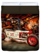 Millers Chop Shop Track T Toyota Duvet Cover