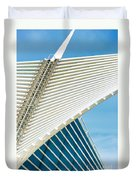 Milwaukee Art Museum Duvet Cover