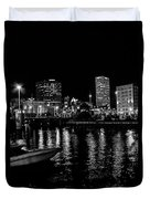 Milwaukee Downtown Third Ward Duvet Cover
